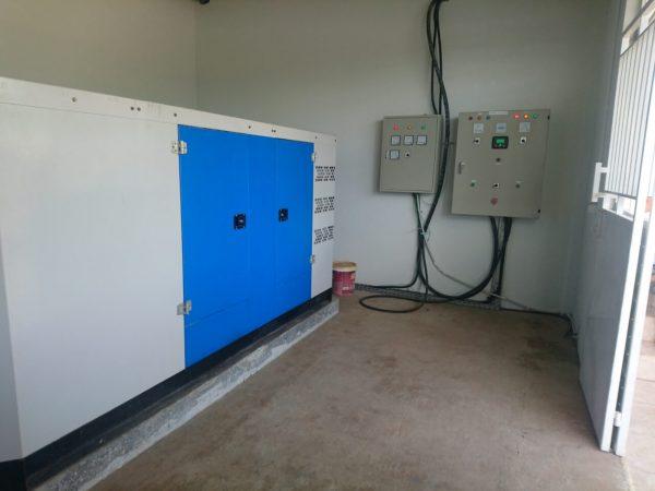jual instalasi genset Cummins 140 kVA naga swalayan
